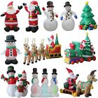 SELF INFLATING INFLATABLE ELECTRIC GIANT INDOOR OUTDOOR CHRISTMAS FIGURE XMAS