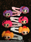 Girls Hair Clip LALALOOPSY (2x snap hairclip) 3 COLOURS TO CHOOSE FROM