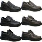 MENS COMFORT SHOES CASUAL SMART FORMAL WIDE FIT OFFICE WORK DRESS WALKING SIZE