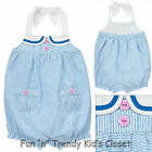 NWT Gymboree HIPPOS AND BOWS Girls Size 3 6 12 Months Halter Bubble 1-PC Romper
