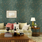 10M Modern minimalist Tree patterns Thick Non-woven Style Wallpaper Roll 3Colors