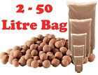 Clay Pebbles 2 to 50 litre Bags-Quality Hydroponic Growing Media Drip Ebb Flood