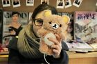 3D Cute Teddy Bear Cool Plush Toy Doll Case Cover For Apple Iphone Samsung Phone