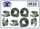 M10 (10MM) STAINLESS STEEL HEXAGON FLANGE NUT GRADE 304 A2 SERRATED FLANGE NUT