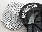 Unisex Hip Hop Too Fast to Live Too Young to Die Trucker Hat Baseball Cap