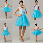 CHEAP Lace Short Evening Prom Quinceanera Dress Homecoming Formal Gowns Banquet