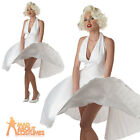 Adult Marilyn Monroe Costume Deluxe Sexy Fancy Dress Hollywood Starlet 6-16