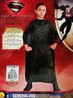 NEW SUPERMAN GENERAL ZOD Costume MAN OF STEAL Comic Book Supervillain Boy's M, L