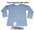 RUSSIAN ARMY STRIPED T'SHIRT AIRBORNE SPECIAL FORCES VDV TELNYASHKA US SELLER