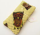 Deluxe Padded Phone Case - iPhone 5 / 5s / 5c / 6 / 6 Plus - Made in Owl Fabric