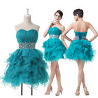 SALE Sexy Voile Strapless Evening Prom Homecoming Formal Quinceanera Dress Skirt