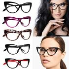 Fashion Women Girl Lady Vintage Plastic Frame Cat Eye Desing Clear Lens Glasses