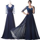 Lady Vintage Long Gown Ball Bridesmaid Bridal Party Cocktail Evening Prom Dress