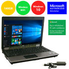 "HP LAPTOP NOTEBOOK PC WINDOWS 10 INTEL CORE 2 DUO 4GB 14.1"" SCREEN HD DVD Win 10"