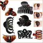 Hair Claw Clip Butterfly Folding Grip Hold Up Twist Large Style Plastic Clamps
