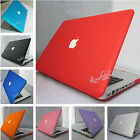 "11color Rubberized Hard Case Cover Laptop Shell for Macbook PRO 13""15"" 2009-2013"