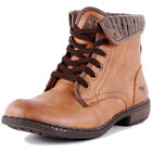 Mustang 4070-601 Mens Synthetic Cognac Boots New Shoes All Sizes