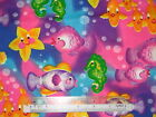 Rainbow bubble fish Sea cotton quilting fabric - *Choose design & size
