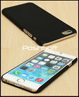 Black Matte Ultra-Thin Rubberized Hard Back Cover Case for Apple iPhone 6S 6 USA