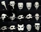NEW! Masquerade Mask Paper Mache Blank Mask Inspired Unisex Unpainted