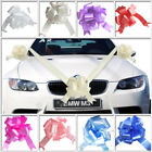 Wedding Car Decoration Kit - 7m of Poly Ribbon & 3 x Large Pull Bows -9 Colours