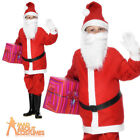 Child Santa Boy Costume Kids Father Christmas Fancy Dress Xmas Outfit New