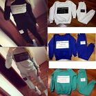 2014 New Fashion Letters Print Tracksuit Sweatshirt Hoodies Sports Suit For Lady