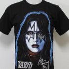 KISS Ace Frehley The Spaceman T-Shirt 100% Cotton New Size S M L XL 2XL 3XL