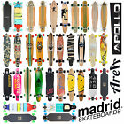 Longboard in 17 Designs - Original APOLLO, MADRID, My AREA