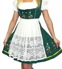DIRNDL German Dress Oktoberfest Trachten SHORT 3 pc EMBROIDERED Waitress Party