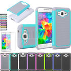 Heavy Duty Rugged Armor Hybrid Impact Hard Silicone Shockproof Case Cover+Film