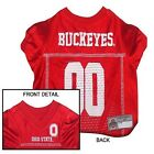 Ohio State Buckeyes NCAA Licensed Pet Dog Football Jersey
