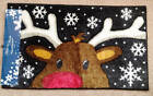"""HOLIDAY DECOR Washable Holiday Accent Rug 18""""x30"""" 3 STYLES TO CHOOSE FROM ~ NEW"""