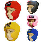 Rex Leather Junior Boxing Head Guard / Head Protector Helmet Kids / Children
