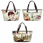 Ladies Ella Shopper Bags in 3 Different Prints - 21532