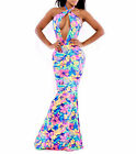 Sexy Women Mermaid SLIM Long Backless Clubwear Evening Party Cocktail Maxi Dress