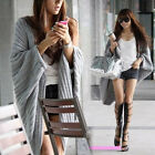 Perfect  Batwing Casual Loose Sweater Coat Knitting Long Cardigan Shawl Outwear