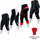 Cycle / Cycling Tights 3/4 Shorts Trousers Leggings Tights Padded  LADIES,MENS