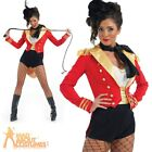Sexy Ringmaster Costume Ladies Adult Circus Fancy Dress Lion Tamer Outfit New