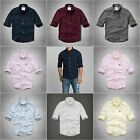ABERCROMBIE & FITCH MEN CLASSIC OXFORD SHIRT NWT SAWTEETH MOUNTAIN S,M,L,XL,XXL