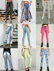 NEW Authentic Color Acid wash SKINNY Stretch Colombian Jeans 1 3 5 7 9 11 13 15