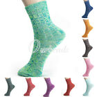 Hot Women Cotton Blends Breathable Cindy Color Thick Warm Winter Long Socks