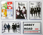 THE BEATLES LARGE FRIDGE MAGNET - CHOOSE FROM DIFFERENT DESIGNS