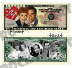 I Love Lucy Tv Lucille Ball Million Dollars Bill Novelty Notes 1 5 25 50 100 500
