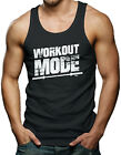 Workout Mode - Gym Weightlifting Exercise Men's Tank Top T-shirt