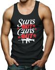 Suns Out Guns Out - Gym Workout Men's Tank Top T-shirt
