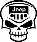 Jeep Club Skull Off-Road Rock Climbing Car Truck Window Wall Vinyl Decal Sticker
