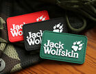 TRACKER PAW ICON JACK WOLF SKIN 3D TACTICAL ARMY MORALE PVC RUBBER VELCRO PATCH