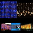 3Mx3M 300LED Outdoor Christmas Wedding Party Fairy Lights Curtain Lights String