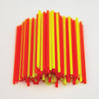 HOLLOW FLUORO POLE FLOAT TIPS BULK (100s)  (POLE FLOAT MAKING) (FLOAT MAKING)
